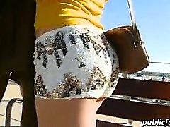 Aletta Ocean Fest am Ufer gebumst