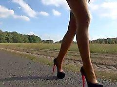 LGH - German Tamia - Public Nylons High Heels Sneakers