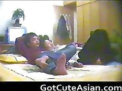 Casal chinês espião da webcam amador asiático part5