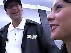 Ron de Jeremy e outra guy Já adolescente no da Segurança Secretária