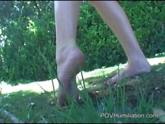 Carli Banks Dirty Feet