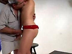 Hairy Daddy Fucks His Model - Str8