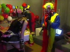 Cam4 2 Clowns Schmerzen Mit Ohmibod Ein deutscher Camgirl Kikrak