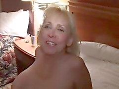 Vit Slampa hustru på hotell med BBC