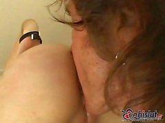 Sasha Grey lleva verga profundidad en el culo