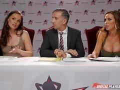 DP Star 3 Hot Brunette Shane Blair Deep Throat Blowjob