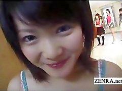Klaarkomen overvloed met Japan amateur POV CFNM blowjobs