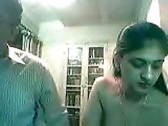 Zwanger Indisch Paar Fucking op Webcam - Kurb