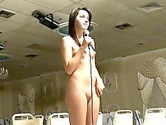 Bebé lesbiano Pequeño desnudando