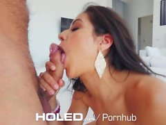HOLED Big booty Jynx Maze deep anal creampie fuck on 4th of July
