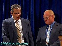 Cum_Reezza Rice Maison Blanche BJ avec Dick et Bush sur Spunk'd!