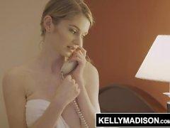KELLY MADISON - Nadya Nabakova Teen jättestora bröst Tips leverans killen