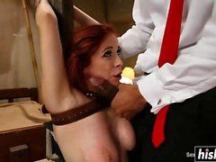 Penny Pax gets spanked and fucked