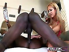 Trina Michales And Jada Fire are playing with each other while they are getting fucked