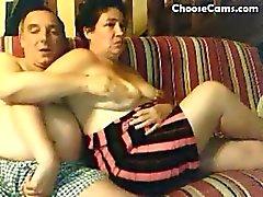 paar getrouwd masturberen volwassen webcam