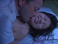 Mosaica : Rin de Aoki fode por trás de o marido dormindo