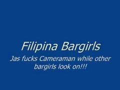 philippines - Filipina Barmädchen jas Bumsen vor Freunden