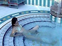 Amateurs Neuken bij het zwembad