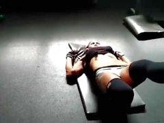 Marlina rasgado muscular MILF