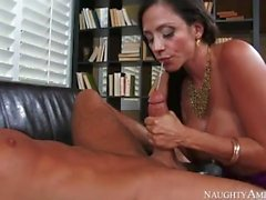 Busty Step Mom Ariella Ferrera loves my cock