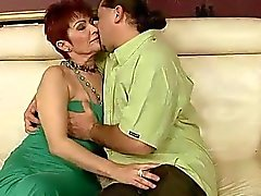 Lusty grandma gets fucked pretty hard