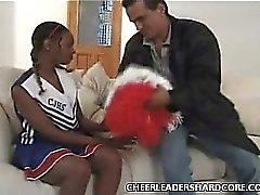 Jeune Noire majorette Balled une