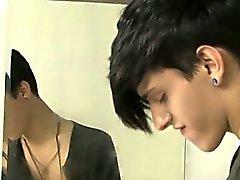Hot Homosexuell Szene in diesem zisch Vignette Jae Landen bezichtigt J