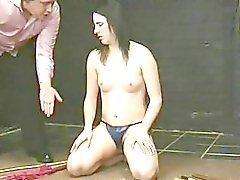 True bombshell hot wax torture!