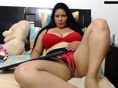 Single BBW solo na webcam