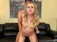 Sexy Lexi Belle gets her cunny pumped and gets a facial on cam