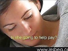 lesbiana masturbación sexo oral adolescente rubia