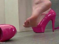 Fetiche de los pies con Paige Turnah