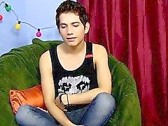 Homosexuell Porno achtzehnjährige Giovanni Lovell ist ein spanischer impo