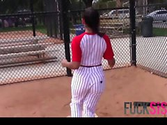 Priya Price in Busty Baseball Babe