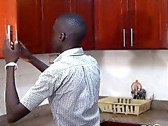 Barebacker de Etiopía el conseguir perforado