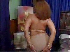 Pakistan splendida bigboobs zia Caterina ballo nudo nella sua letto