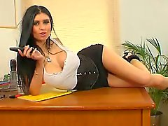 Lilly Roma BangBabes Office
