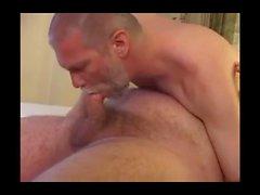 Big Hairy Chub Bear and Daddy have some fun.