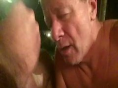 Neal Blosmen Porn Slut Sucks Cock Outdoors on Warm Summer Night