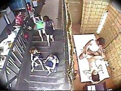 Spycam Massage Sex i Beach Club 3