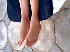 los pies caliente árabe . delicioso
