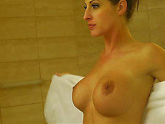 Kortney Kane showeing after having sex menacing-fearsome HD Porn
