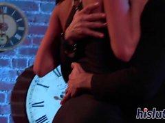 Алектра Блу еще её киску оргазмическая массированным
