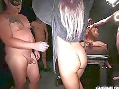 Nuove Sesso con suocera godere il suo primo Orgia