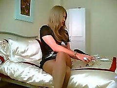 Ash in Pantyhose