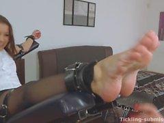 Merciless Foot Tickled Rene