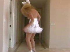 Di Alison di angelo coniglietto di di danza