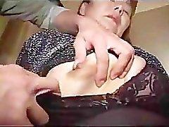 Fantastische Aziatische Oma