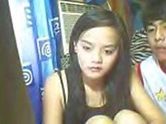 Katherine Franco de Manila Filipinas folla al chico vecino