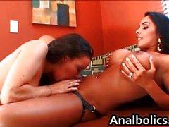 Putas lésbicas Nina Mercedez e de Sophia